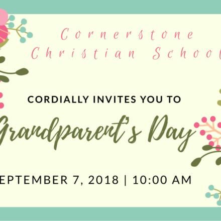 Grandparent's Day | September 7, 2018
