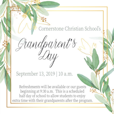 Grandparent's Day | September 13, 2019